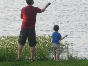 doing a little fishing