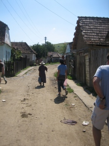 This is a gypsy village we were able to visit